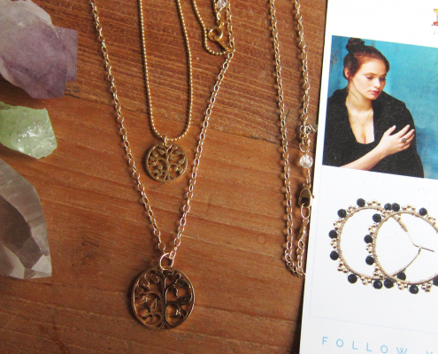 goldfilled tree-of-life-ketting