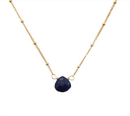 lapis lazuli bliss ketting