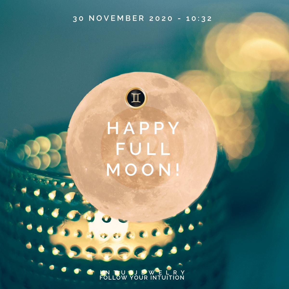 Volle Maan en verduistering 30 November
