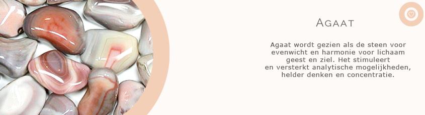 sieraden met edelsteen agaat met uitleg van de spirituele betekenis
