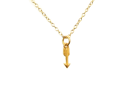 arrow ketting goud