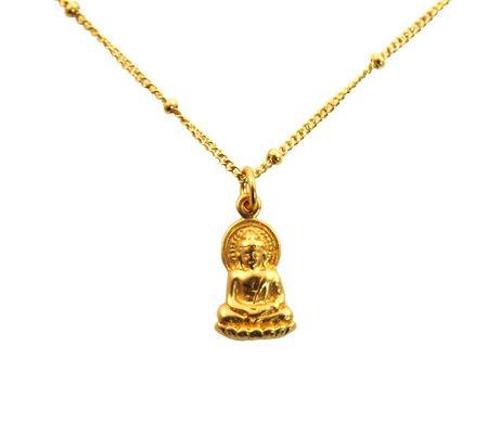 buddha goldfilled ketting