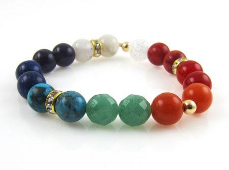 chakra 8 goldfilled armband