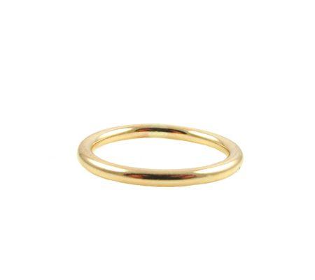 circle ring goud