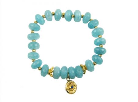 goldfilled-eye-blauwe-kwarts-armband