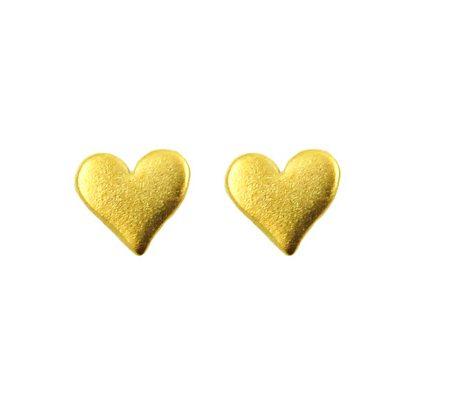 hart-oorbellen-goud