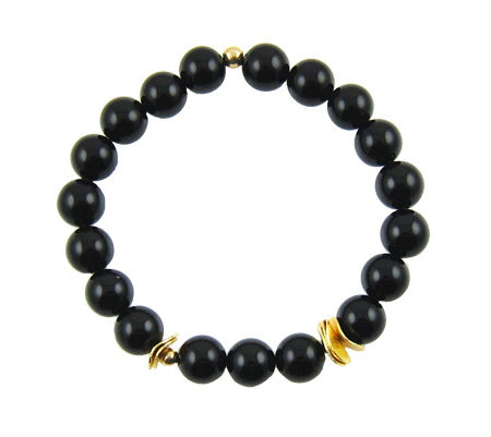 intuition-onyx-armband-goud