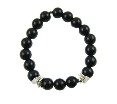 intuition-onyx-armband-zilver