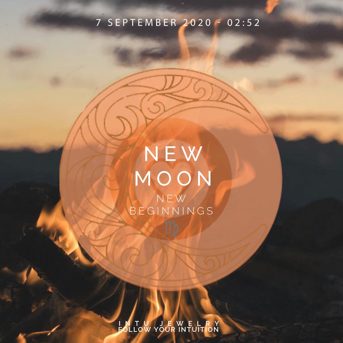 de betekenis van de nieuwe maan van 7 september 2021