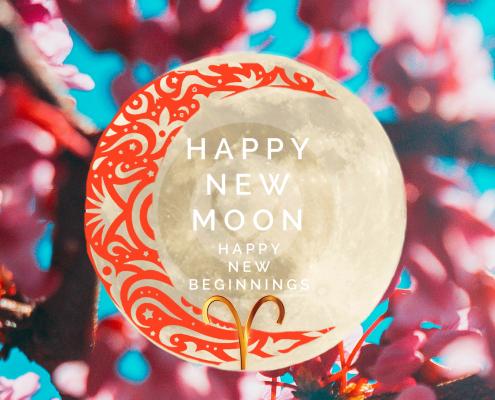 nieuwe maan april