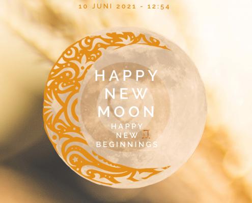 nieuwe Maan en verduistering 10 juni 2021