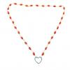 heart centered ketting koraal turquoise