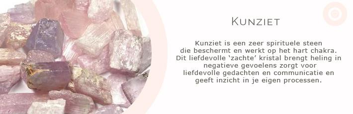 kunziet zacht roze edelstenen