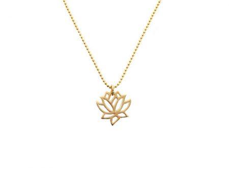 lotus symboolgoldfilled ketting