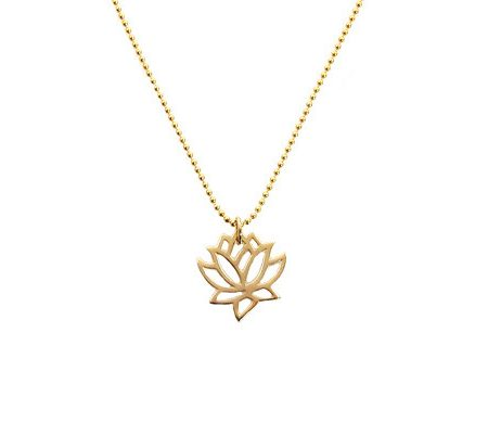 lotus symboolgoldfilled ketting