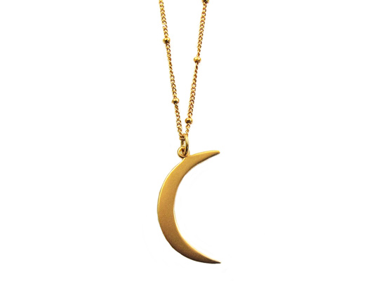 moon magic ketting goud