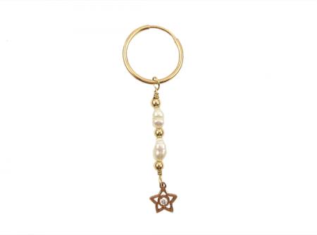 pearly star oorbel