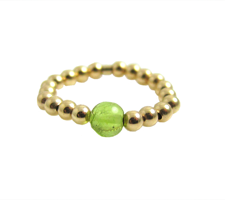gold filled peridot ring inspiratie