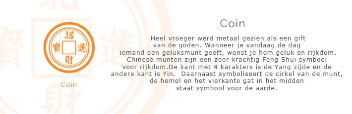 coin symbool kettingen