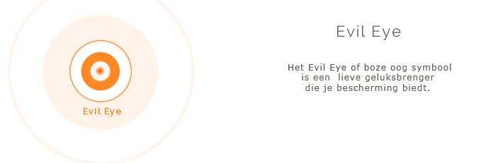 evil eye symbool sieraden