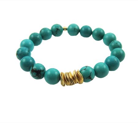 turquoise energie armband
