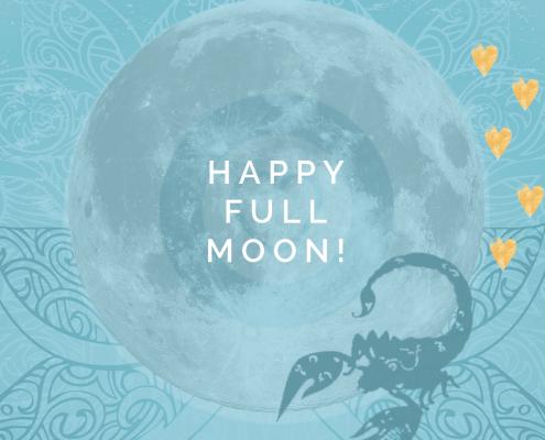 volle maan van ontwaken